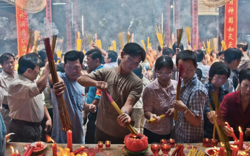 incense-burning